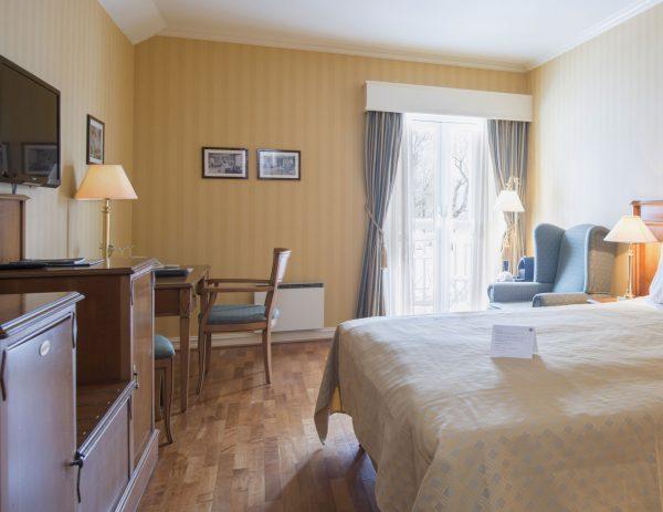 Ved konferanse på Losby Gods er Deluxeværelse et av værelsene du kan velge blant