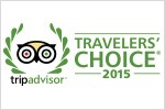 Tripadvisor badge - Losby Gods Travelers Choice 2015