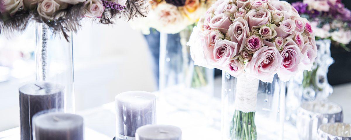 Utstiller blomster bryllupsmesse 2015