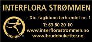 Interflora Strømmen_Utstiller bryllupsmesse Losby Gods
