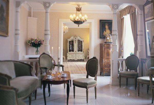 Damesalongen Bryllupslokale er blant Losby Gods sine selskapslokaler til leie
