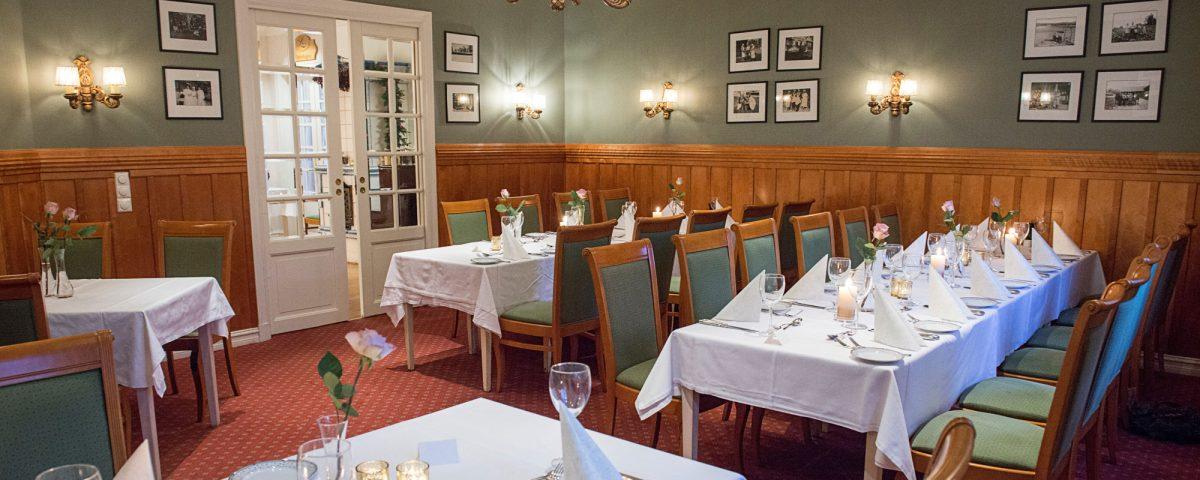 Husmannsstuen i restauranten på Losby Godspå Losby Gods