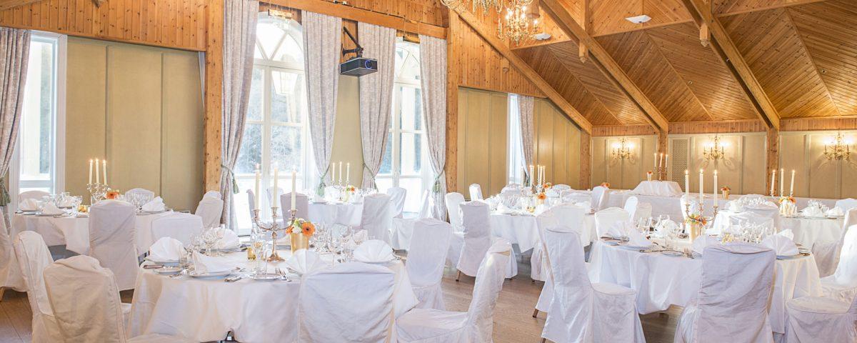 Bryllup på Losby Gods Bryllupslokale Meyersalen