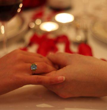Dagen før bryllupsmessen på Losby Gods